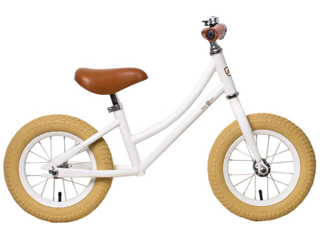 "Rebel Kidz Air Classic Bicicletas sin pedales 12,5"" Niños, white"